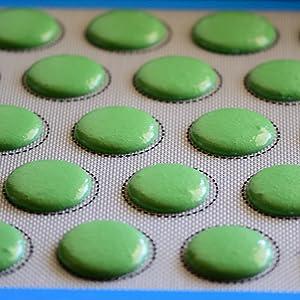 macaron baking mat macarons silicone mat