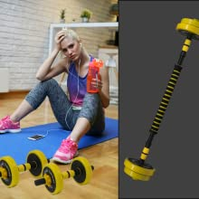 Dumbbells Barbbell for Home Workout