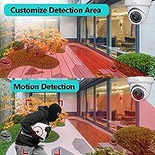 Smart Motion 8MP Dome IP Camera
