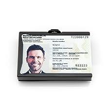frode card wallet portafoglio portamonete uomo clip fermasoldi con clip slim wallet tyvek portafogli