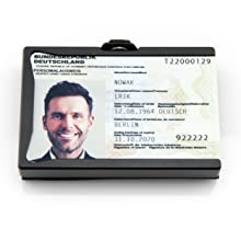 Personalausweis Führerschein Kartenhalter Scheckkartenhalter Ausweishalter card holder card case