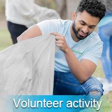 volunteer activity
