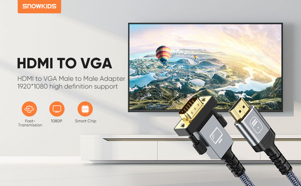hdmi to vag cable