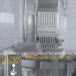 Maca fit Red 300 cápsulas polvo puro de la raíz de maca organica, original de Peru: Amazon.es: Salud y cuidado personal