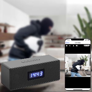 hidden camera with audio live feed wifi