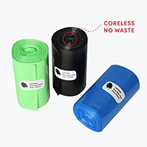 Coreless refill bags