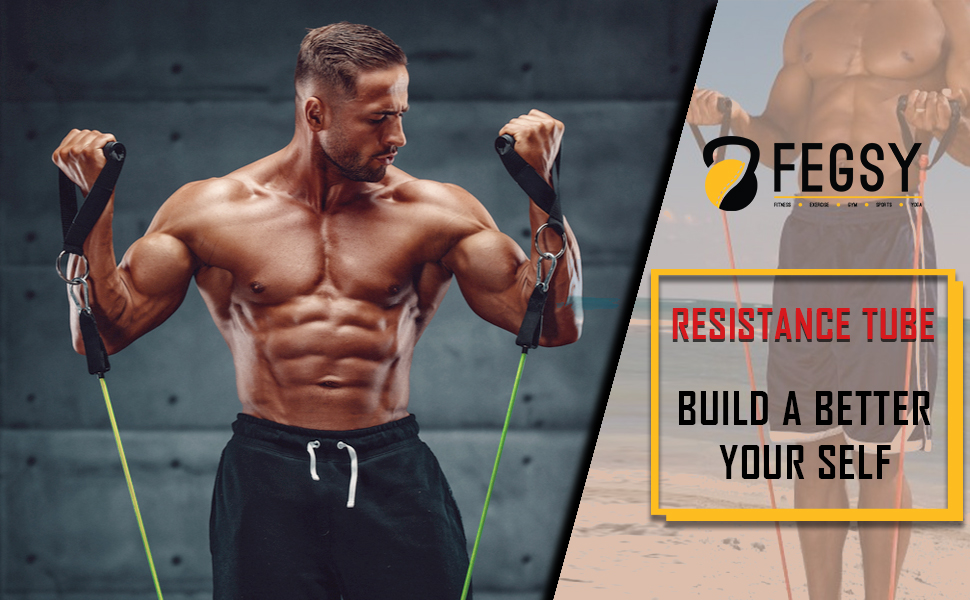 resistance tube for exercise