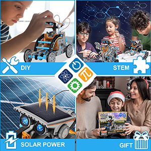 Robot Science Kits for Kids 8 9 10-12 Year Olds