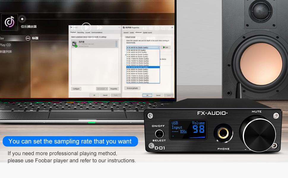 Bluetooth USB DAC and headphone amp
