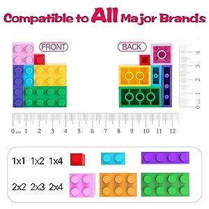 compatible to all major bricks