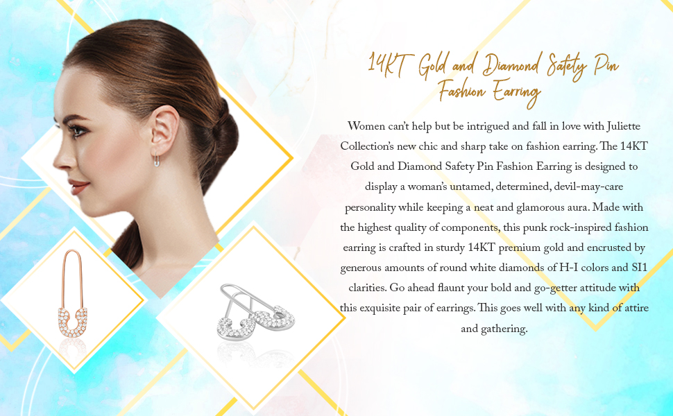 threader earrings for women ear pins punk pins safety pin earring ear pin 2 inch safety pins