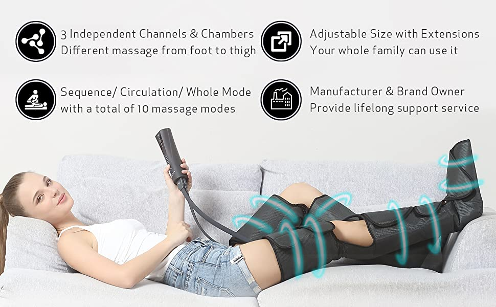 why choose fit king leg and foot massager FT-012A