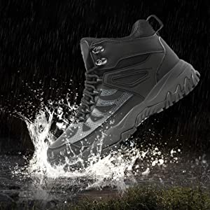 Walking Boots Mens Womens Lightweight Hiking Shoes for Winter Snow