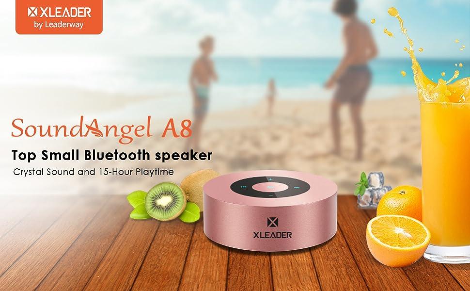 XLEADER SoundAngel A8 Small Touch Bluetooth speaker