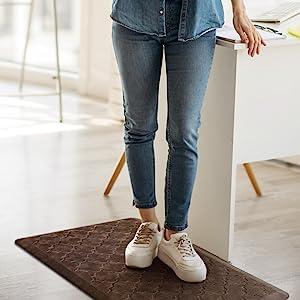 anti fatigue mat standing desk office