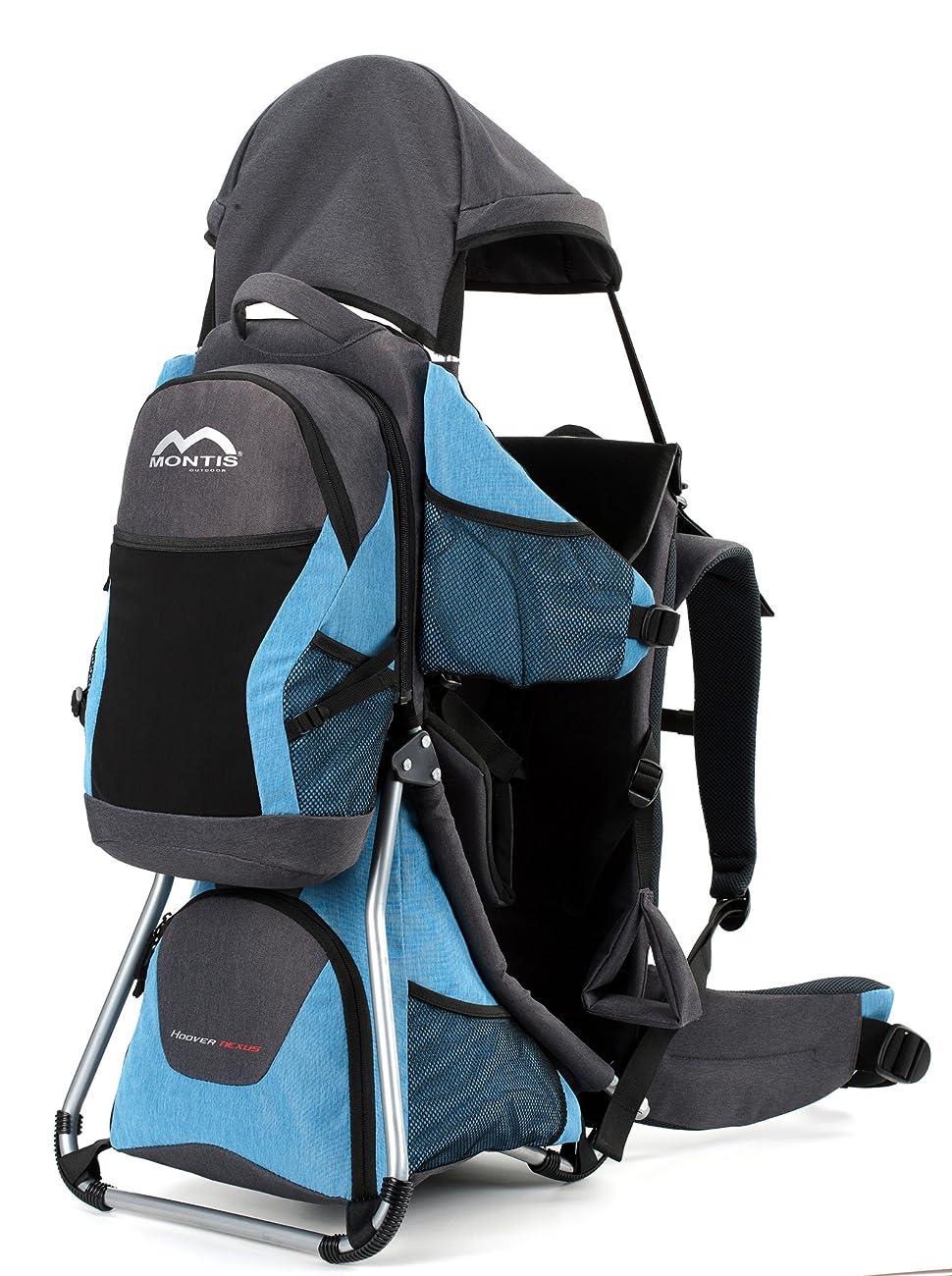 MONTIS Hoover Nexus, Mochila portabebés, 25 kg (Azul): Amazon.es ...