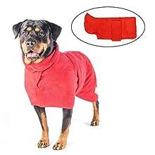 Dog Drying Coat Robe Towel