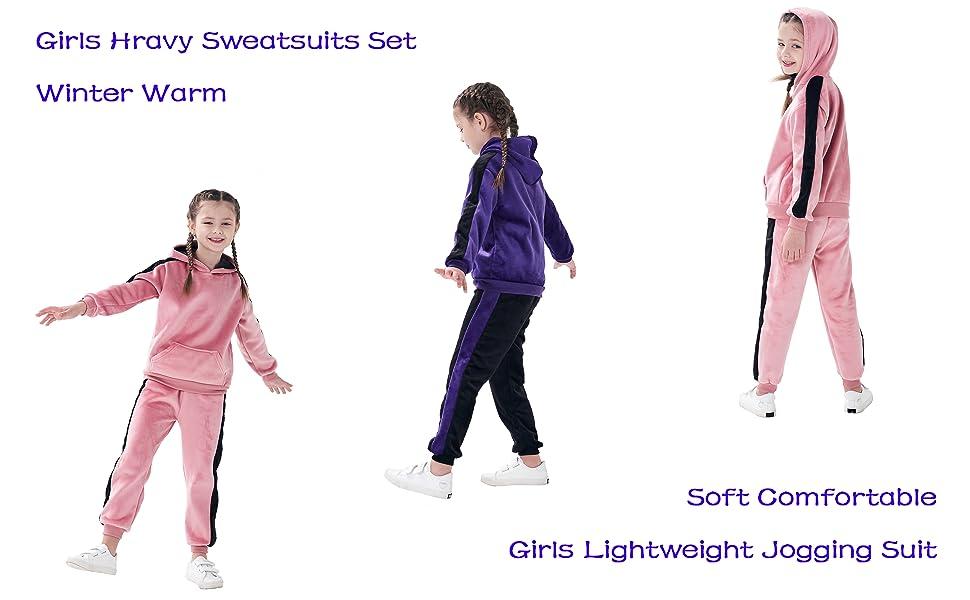 Girls Sweatsuits set