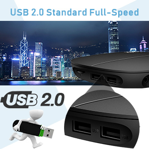 USB 2.0——standard full-speed
