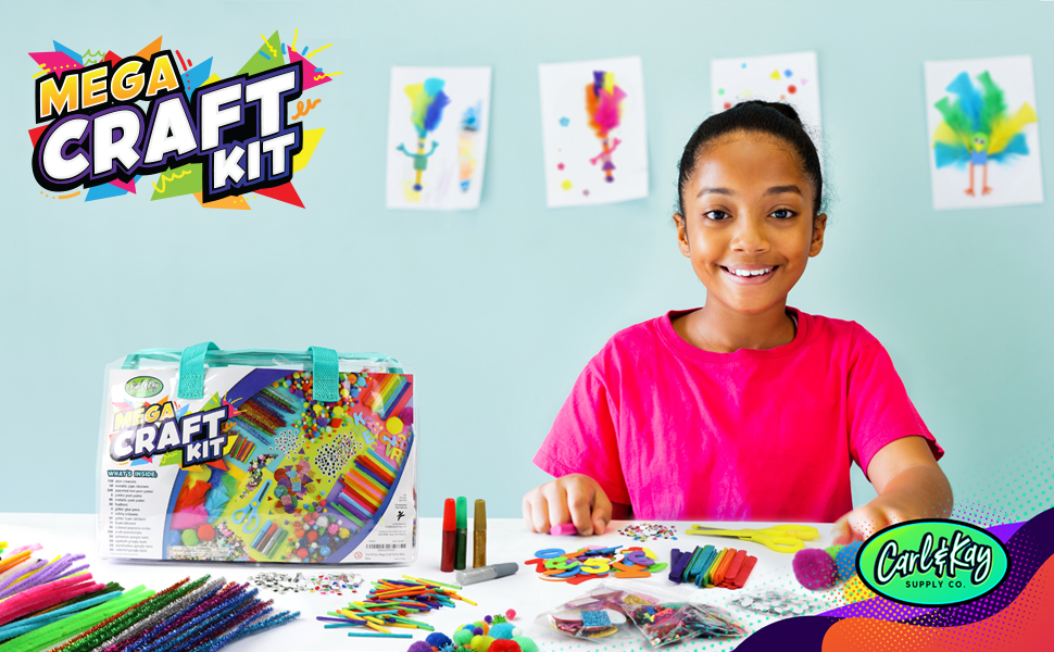 craft supplies & materials arts & crafts arts and crafts craft supplies craft kits kids crafts