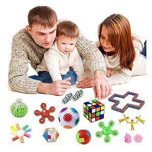 Fidget Sensory Toys Bundle for Adults and Children