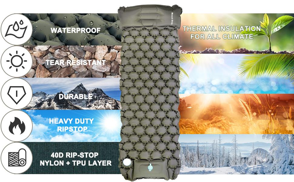 waterproof and tear resistant