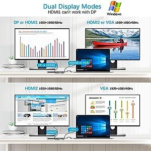hdmi dual monitor adapter