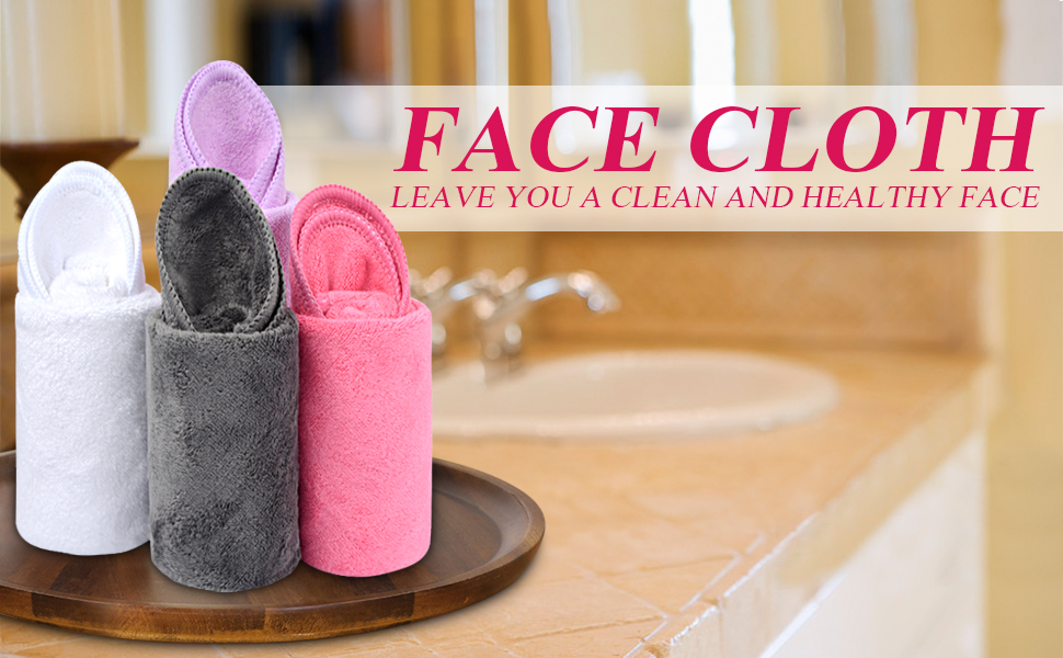 Microfiber Face Cleansing Cloths