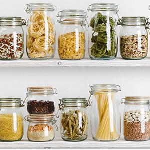 organize your kitchen cupboard