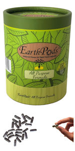 EarthPods All Purpose Indoor Organic House Plant Food Fertilizer Spike Capsules