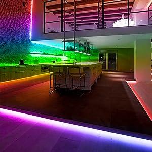 led strip lights for room