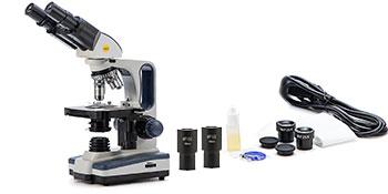 amscope microscope binocular trinocular compound telmu besser kids students lab usb digital camera