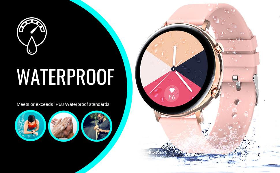 Nimble 2 Smartwatch Smart watch fitness sports waterproof sweatproof pedometer tracker