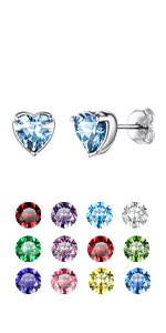 Birthstone Earrings