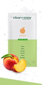 Clean + Easy Peach Paraffin Wax, 1 lb