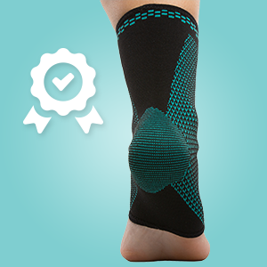 first aid recover faster relieve inflammation foot injuries sprains strains tendon flexible fabric