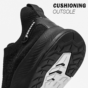 Running Walking Shoes with Breathable knit upper for men Lightweight