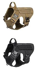 combat dog harness