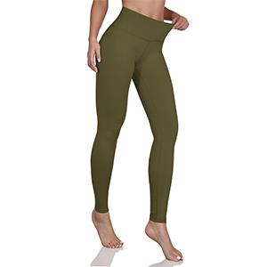 mid waist yoga leggings with inner pocket