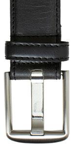 Nickel Free Wide Pin Black Belt