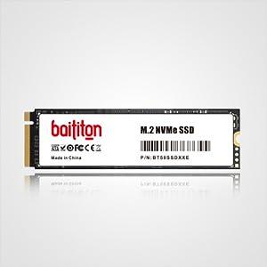 BAITITON NVME 512GB SSD M.2 2280 PCIe Express GEN3.0x4 Disco Duro Interno Unidad de Estado sólido de Alto Rendimiento: Amazon.es: Electrónica