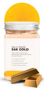 24k gold Jelly mask Hydro Jellymask avery rose