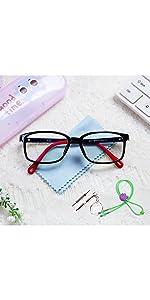 blue screen glasses teens kids
