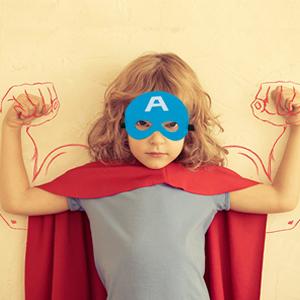felt superhero mask