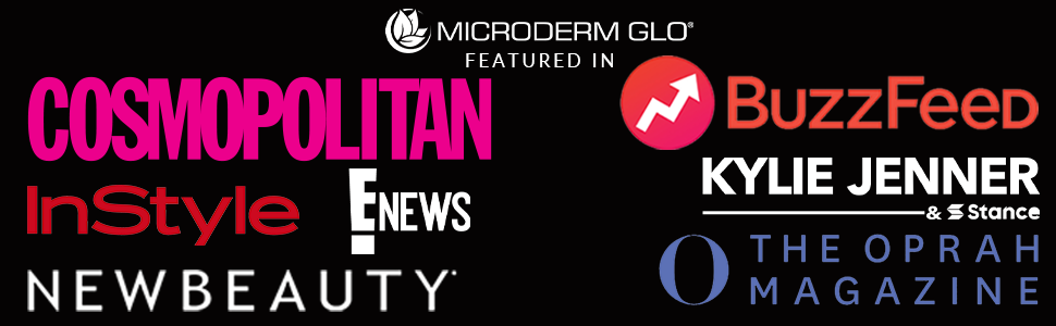 Microderm GLO - Featured In - microdermabrasion machine