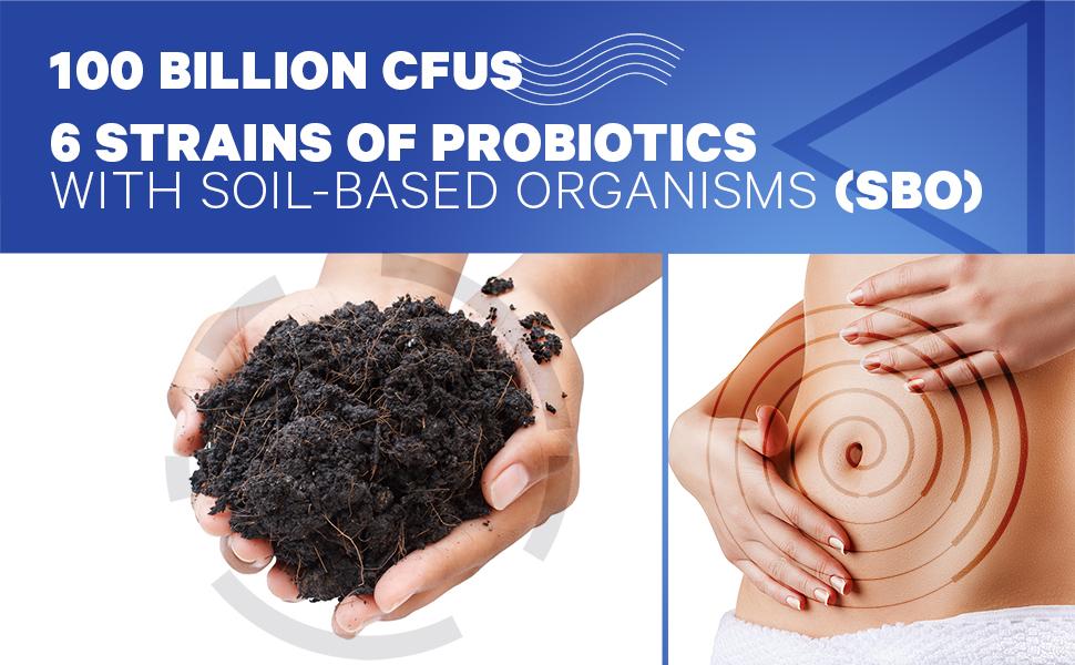 Codeage - Soil-Based Organisms and Prebiotics