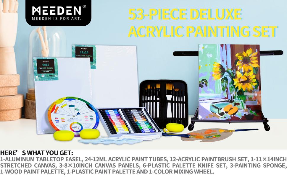 acrylic paint set