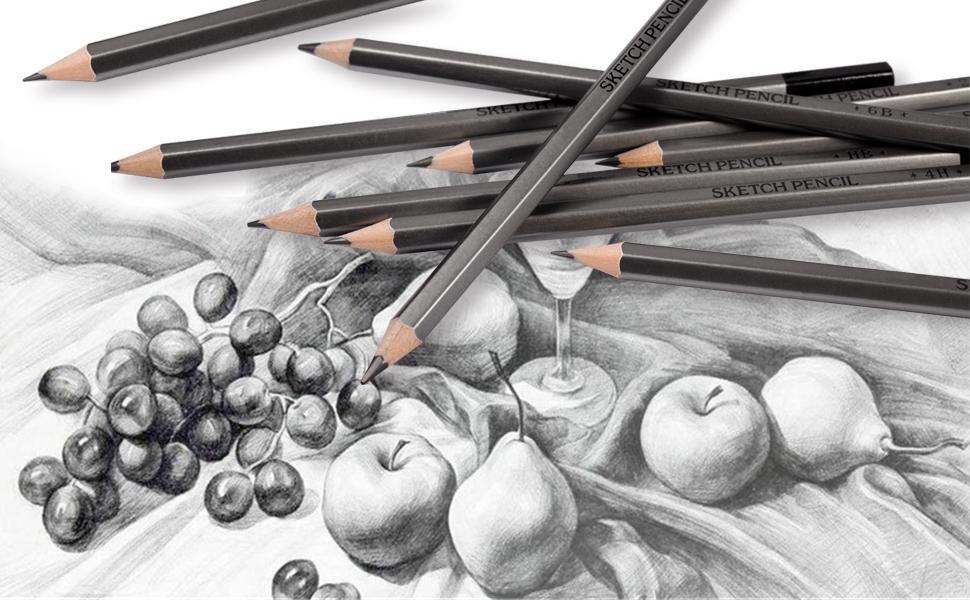 graphite drawing pencils pencils 2h, hb pencils, hb 2b 4b, 6h pencil, drawing pencils 2b