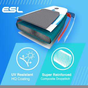 Exo Surface Laminate Technology UV resistant HQ coating super reinforced drop stitch denier