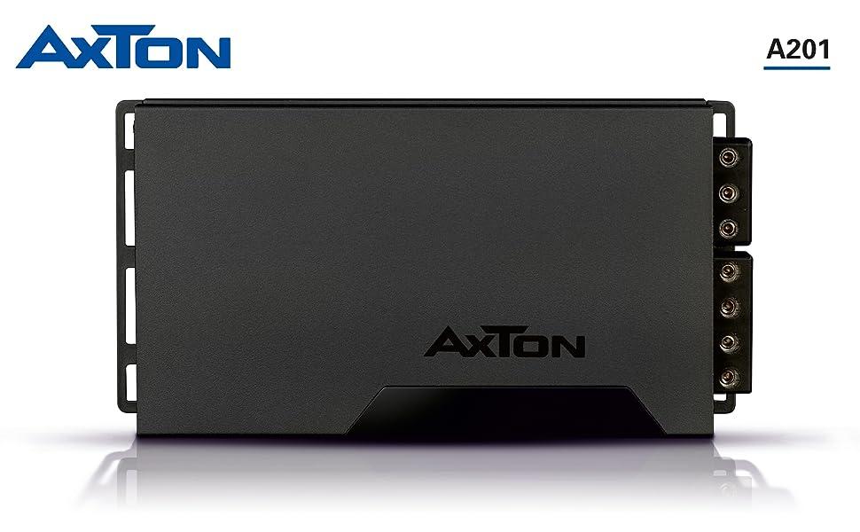 AXTON A201: Leistungsstarker 2-Kanal Digital Verstärker fürs Auto